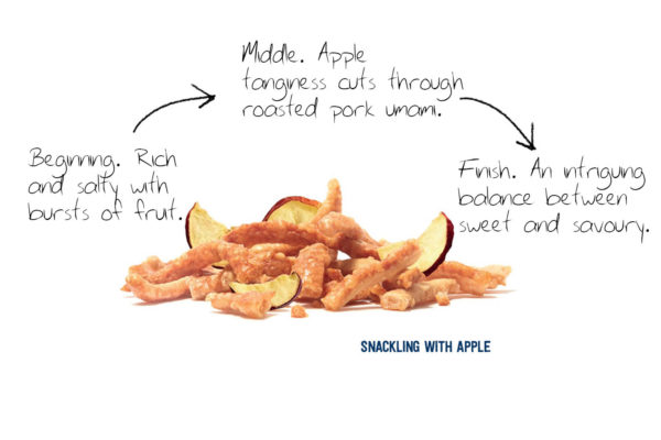 Snackling & Apple flavour journey